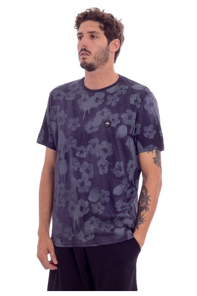 Camiseta-HD-Especial-Dark-Hibiscus-Preta