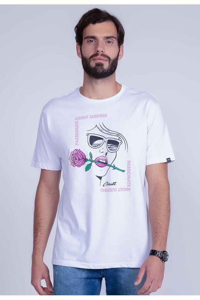 Camiseta-Oneill-Estampada-Passionate-Branca
