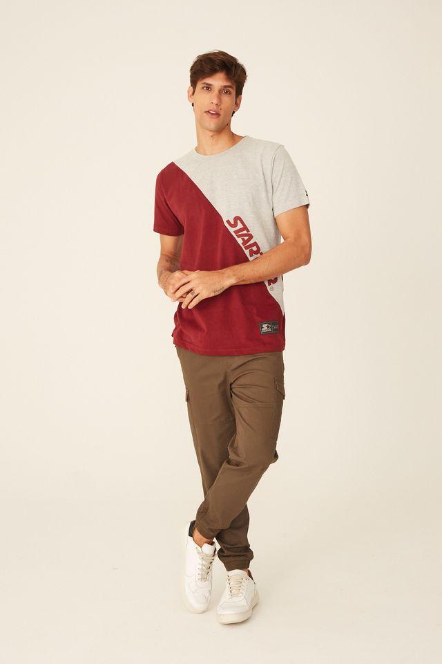Camiseta-Starter-Especial-Bicolor-Look-For-Cinza-Mescla