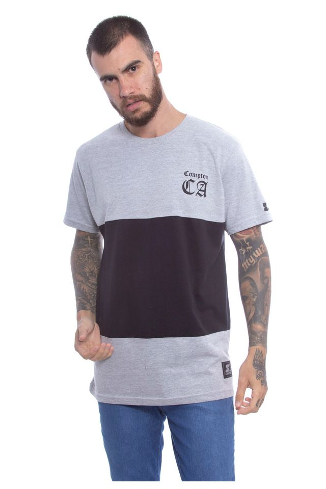 Camiseta-Starter-Especial-Compton-Cinza-Mescla