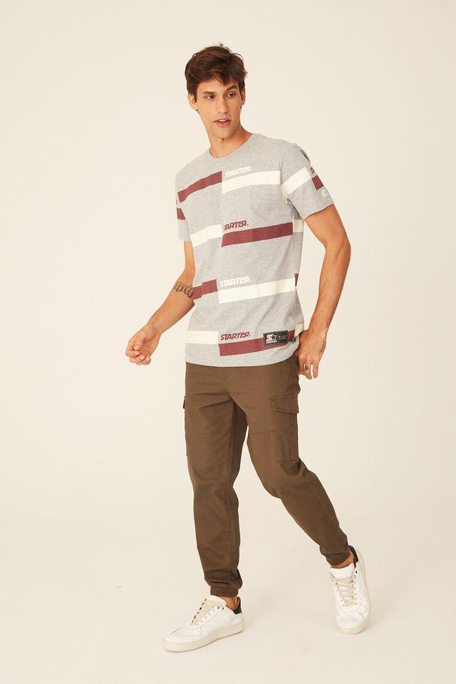 Camiseta-Starter-Estampada-Cinza-Mescla