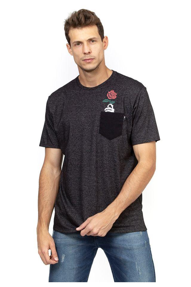 Camiseta-HD-Especial-Pocket-Rose-Preta