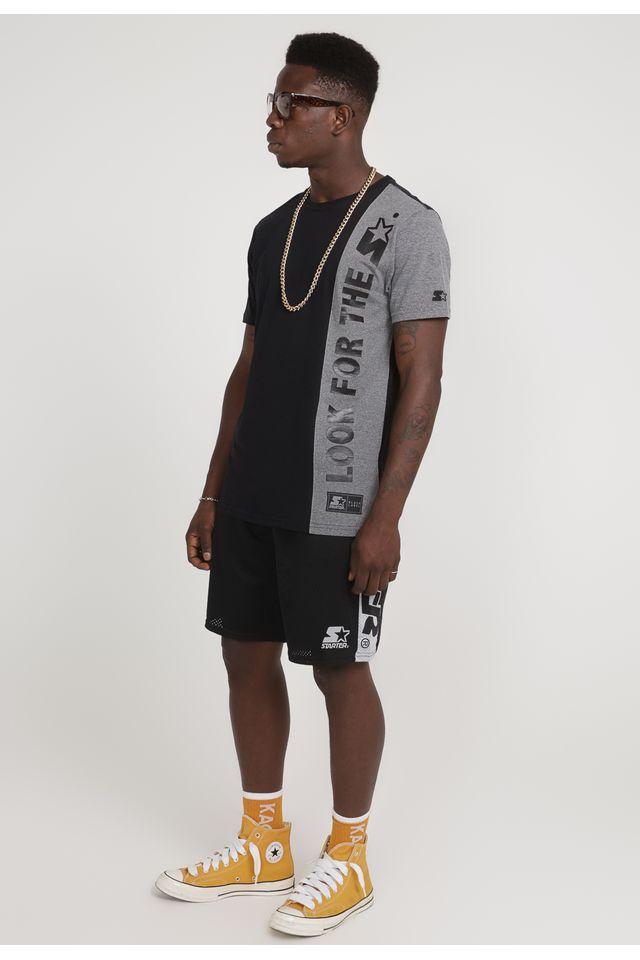 Camiseta-Starter-Especial-Look-For-The-Star-Cinza-Mescla