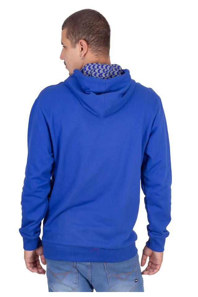 Moletom-HD-Fechado-Estampado-Com-Capuz-Azul