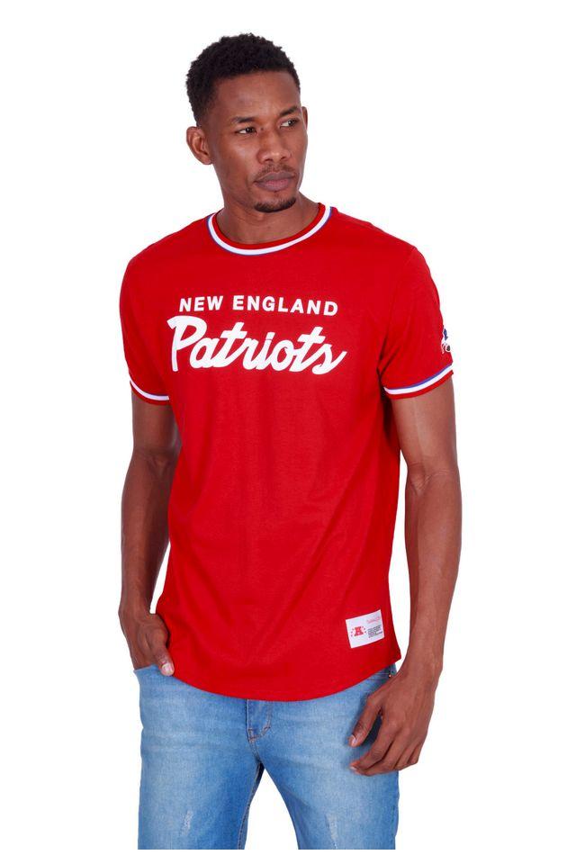 Camiseta-Mitchell---Ness-Estampada-NFL-Especial-New-England-Patriots-Vermelha