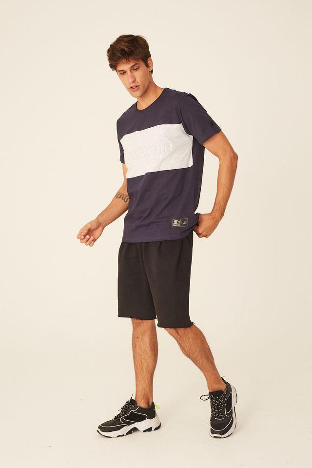 Camiseta-Starter-Especial-Estampada-Azul-Marinho