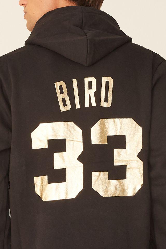 Moletom-Mitchell---Ness-Fechado-Com-Capuz-Boston-Celtics-Larry-Bird-Preto
