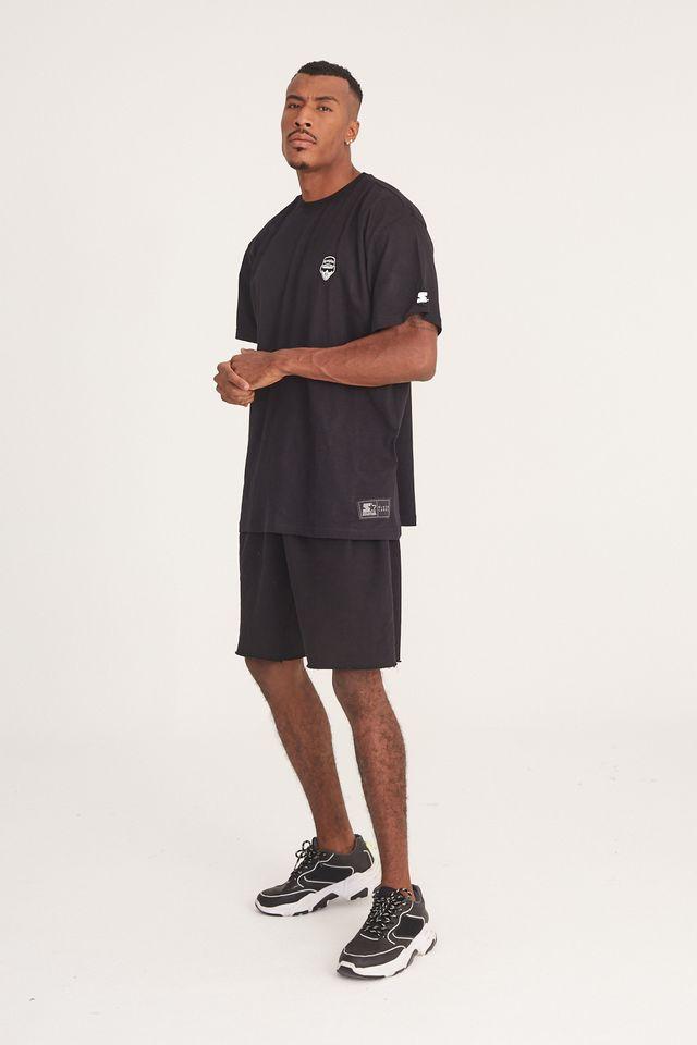 Camiseta-Starter-Plus-Size-Estampada-Born-in-The-Bronx-Preta