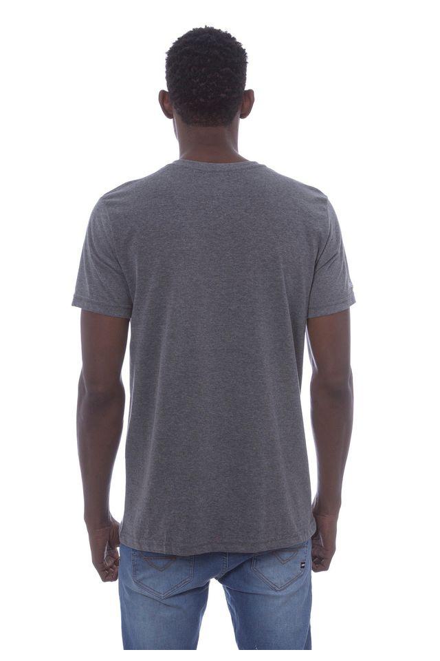 Camiseta-Mitchell---Ness-Estampada-Branding-Cinza