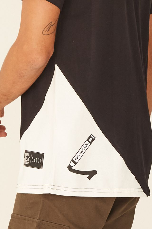 Camiseta-Starter-Especial-Estampada-Preta
