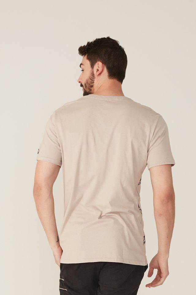 Camiseta-Starter-Estampada-Black-Label-Look-Fot-The-Star-Bege