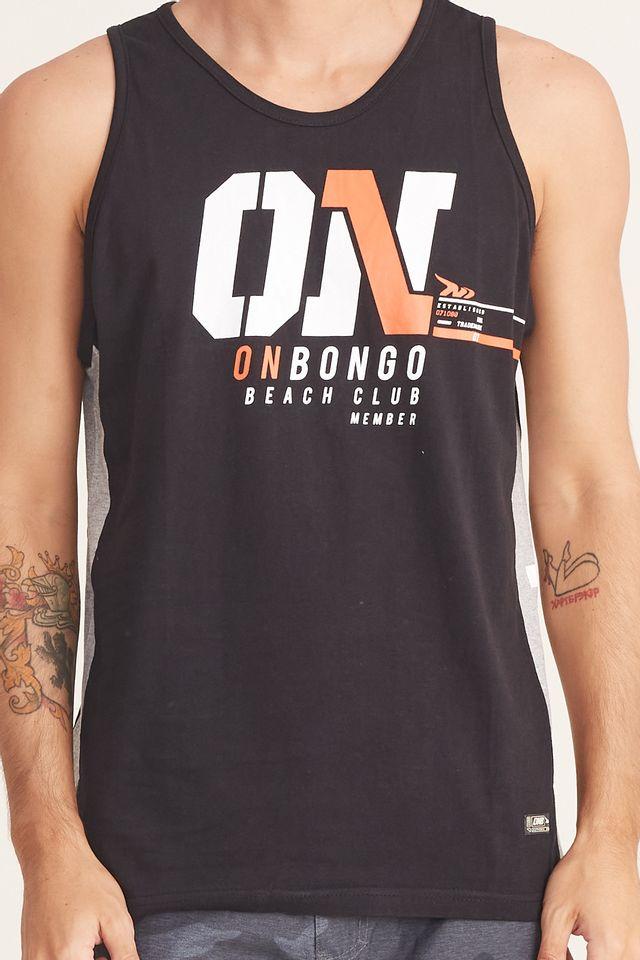 Regata-Onbongo-Estampada-Preta