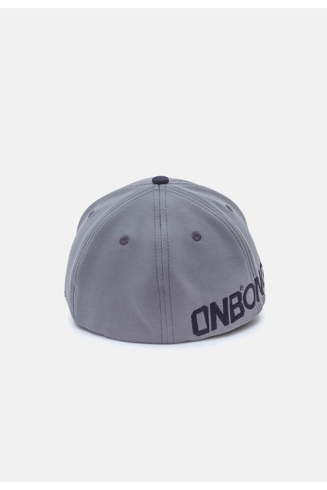 Bone-Onbongo-Aba-Curva-Flex-Fit-Cinza