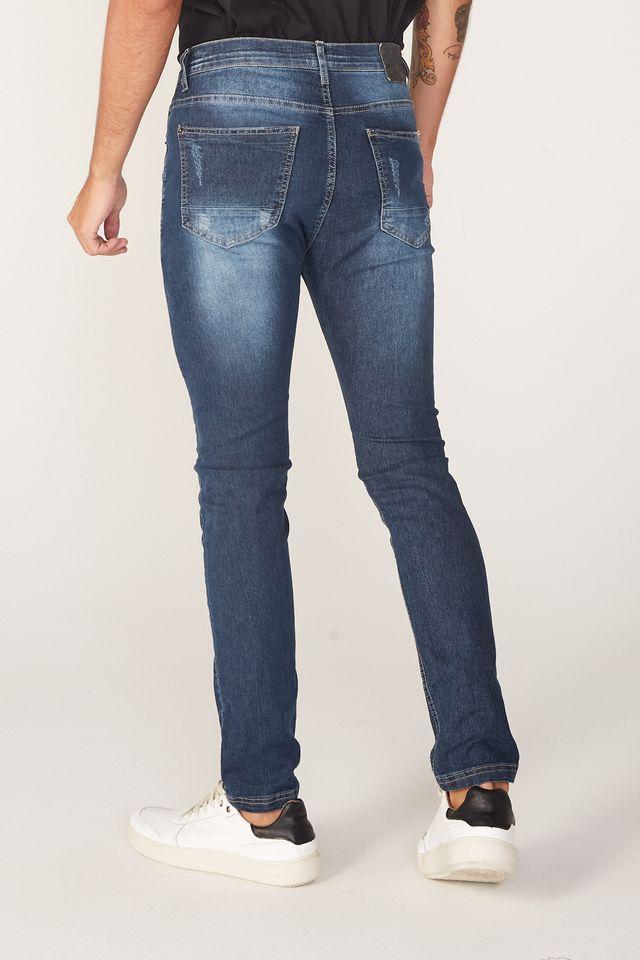Calca-Jeans-Onbongo-Slim-Confort-Fit-Azul-Escuro