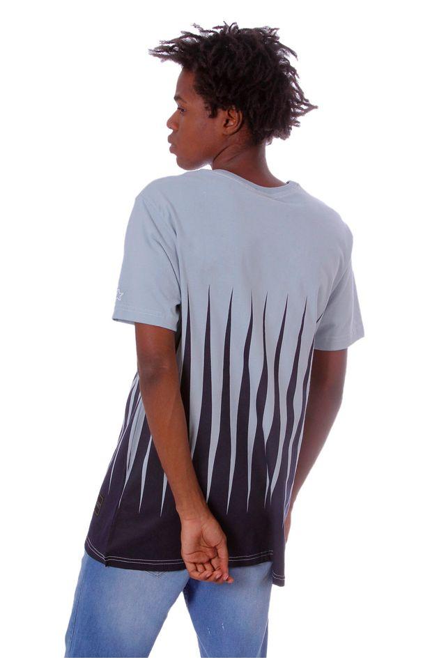 Camiseta-Starter-Estampada-Black-Label-Azul