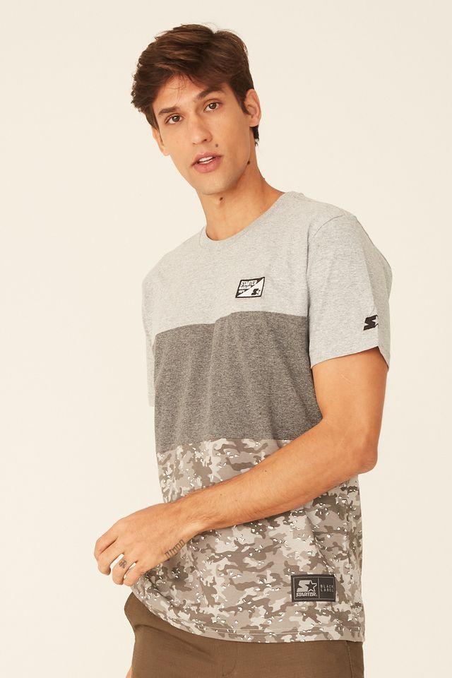 Camiseta-Starter-Especial-Black-Label-Desert-Cinza-Mescla