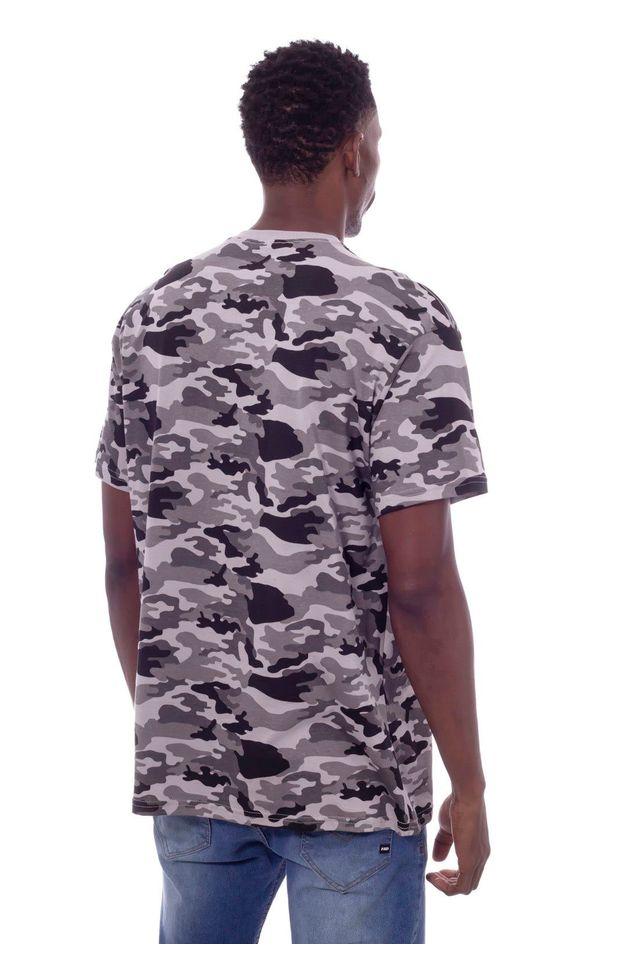 Camiseta-Starter-Plus-Size-Camuflada-Pixo-Cinza-Mescla
