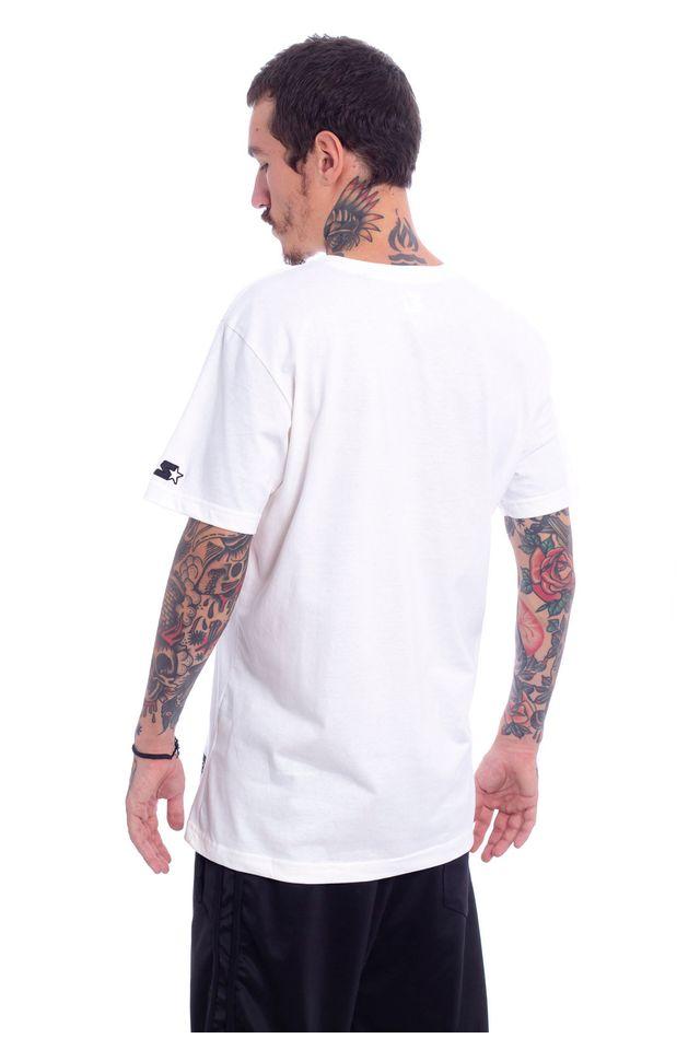 Camiseta-Starter-Estampada-Collab-Gato-Felix-Off-White