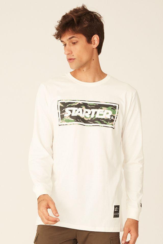 Camiseta-Starter-Manga-Longa-Estampada-Logo-Box-Camuflada-Off-White
