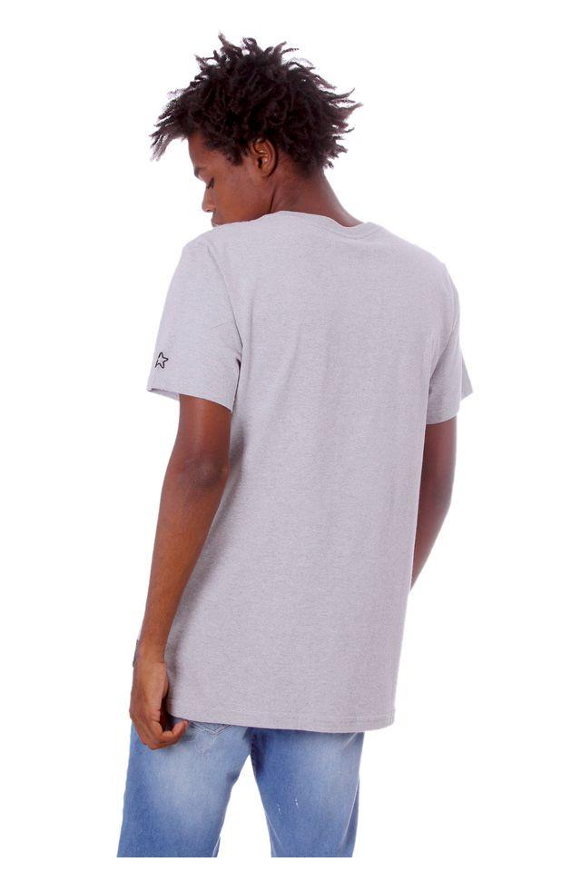Camiseta-Starter-Estampada-Born-in-The-Bronx-Cinza-Mescla