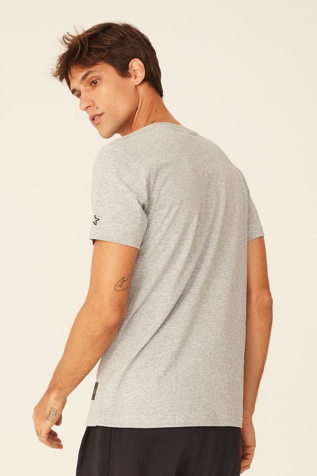 Camiseta-Starter-Estampada-Compton-Tape-Cinza-Mescla
