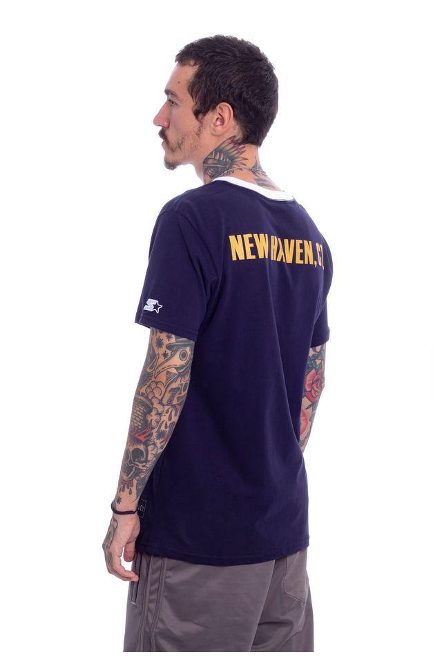 Camiseta-Starter-Estampada-New-Haven-Azul-Marinho