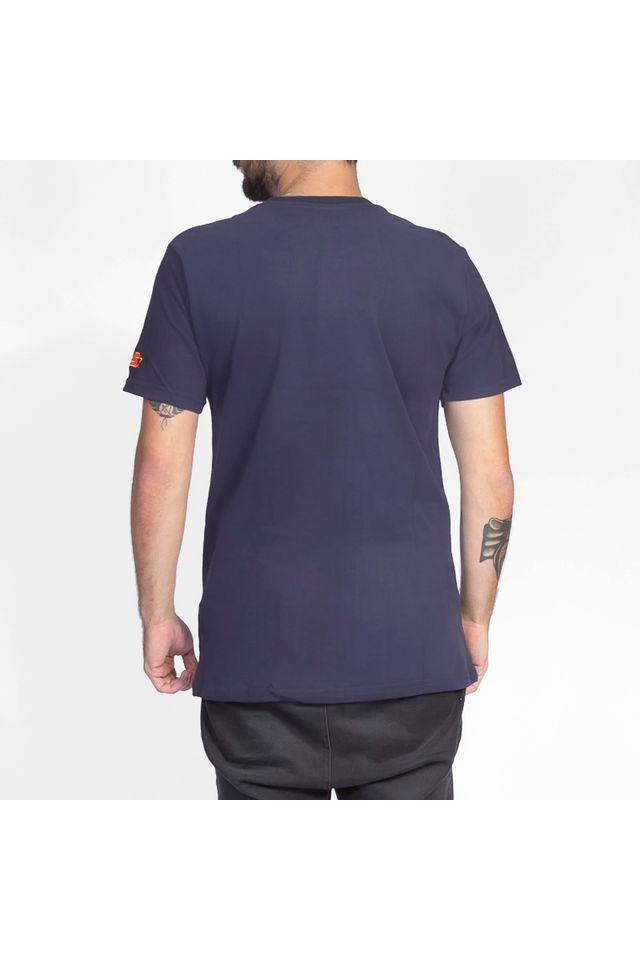 Camiseta-Starter-Estampada-Collab-Sneakersbr-Azul-Marinho