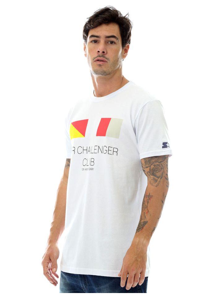 Camiseta-Starter-Estampada-Challenger-Flag-Collab-Snearkersbr-Branca