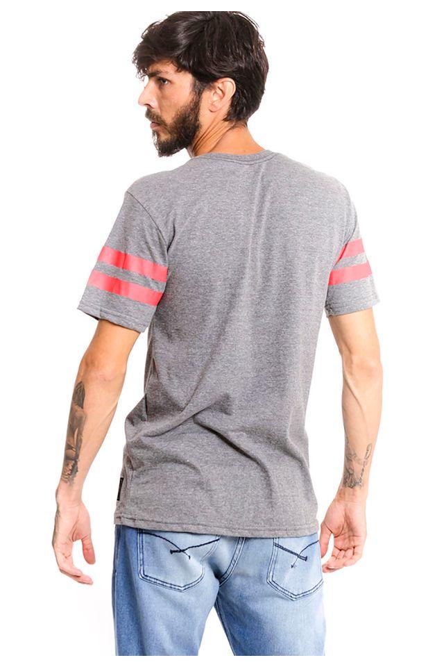 Camiseta-Starter-Especial-Estampada-Cinza-Mescla-Escuro