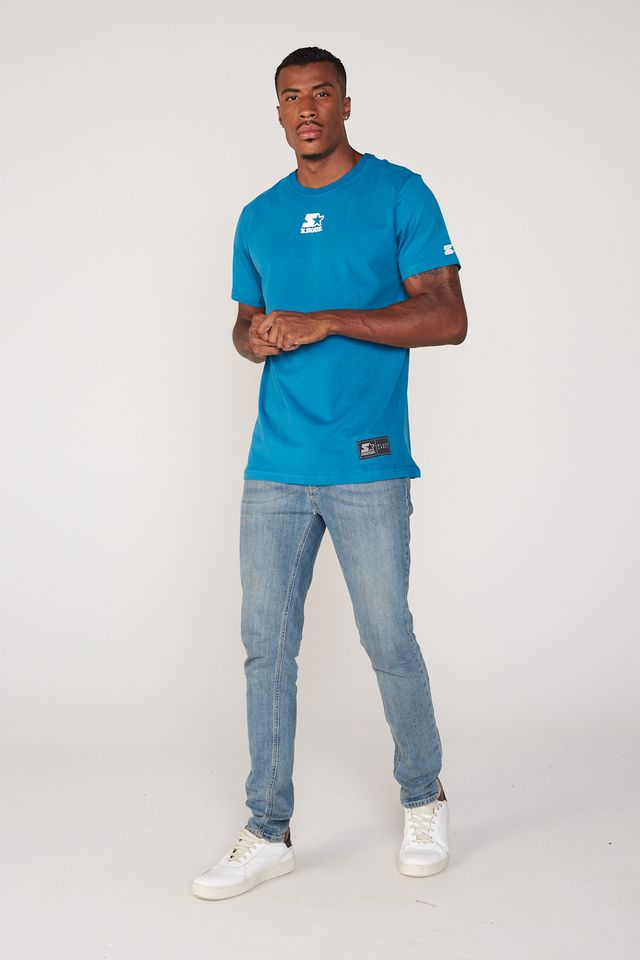 Camiseta-Starter-Estampada-Collab-Cemporcento-Skate-Azul