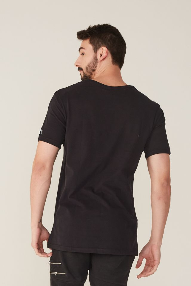 Camiseta-Starter-Estampada-Collab-Cemporcento-Skate-Preta