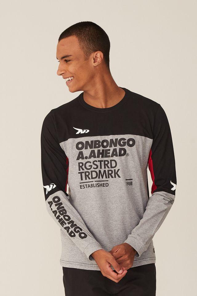 Camiseta-Onbongo-Manga-Longa-Especial-Preta