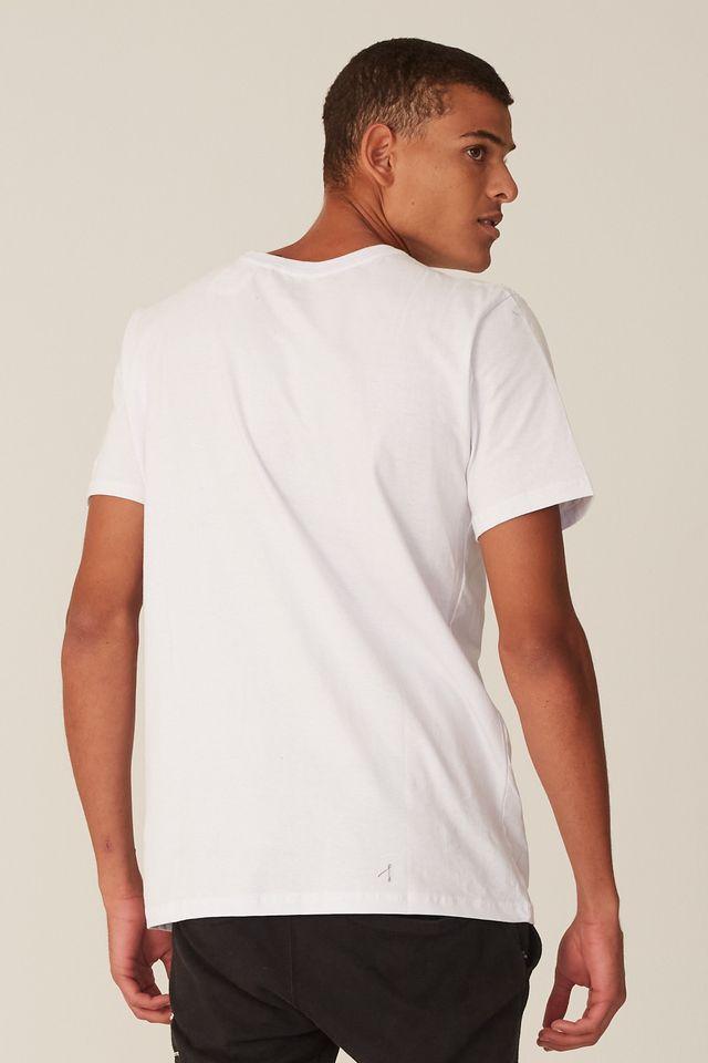 Camiseta-Starter-Estampada-Floque-Branca