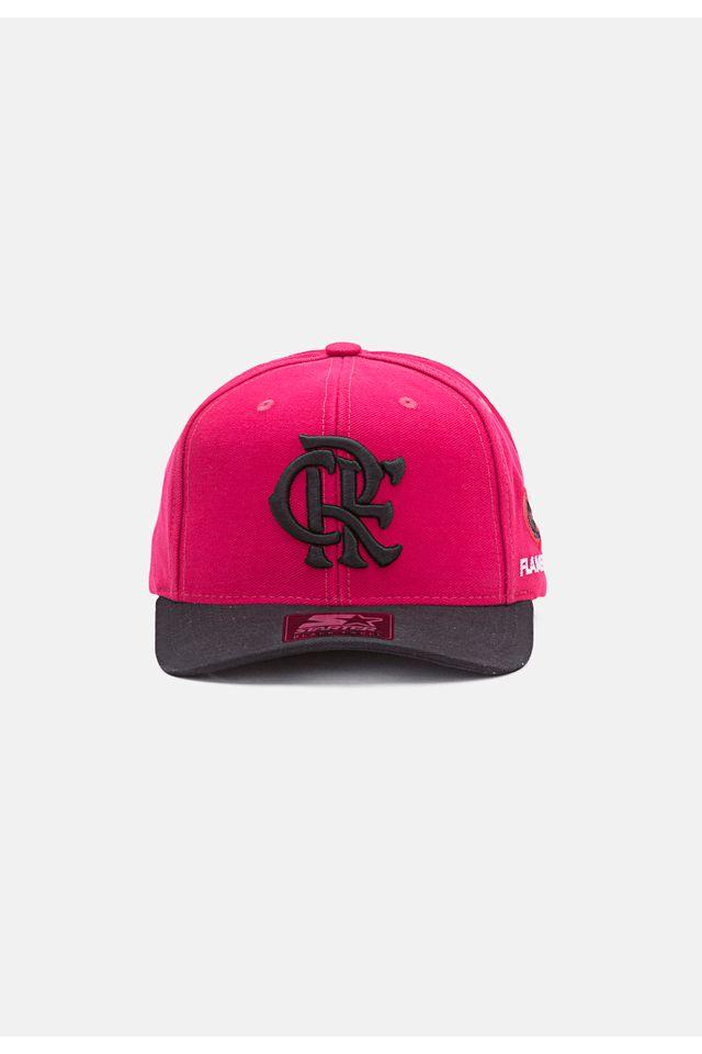 Bone-Starter-Aba-Curva-Snapback-Collab-Flamengo-Oficial-Rosa