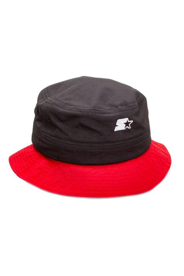 Bone-Starter-Bucket-Hat-Collab-Flamengo-Oficial-Preto