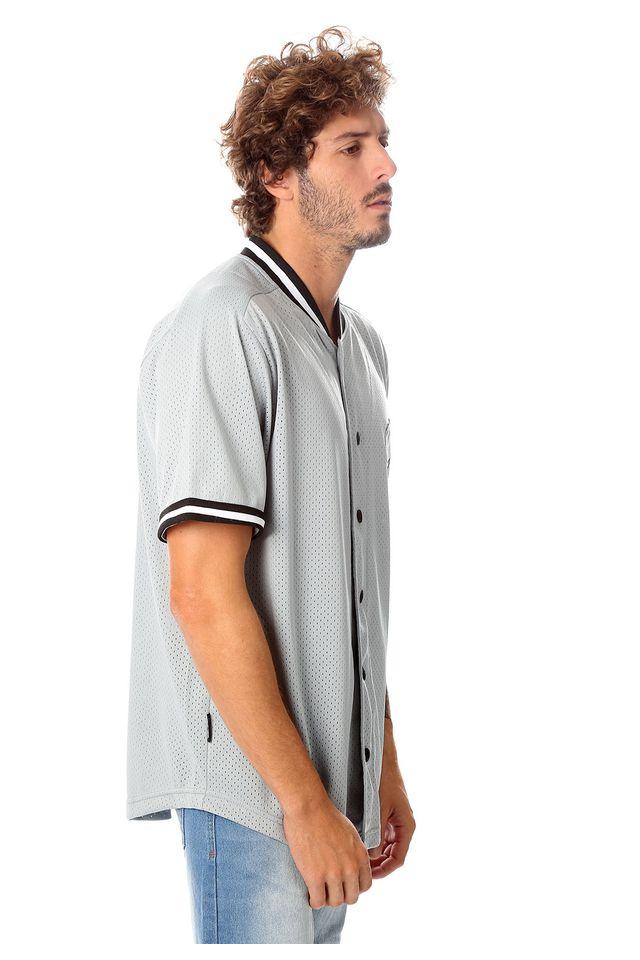 Camisa-Starter-Manga-Curta-Estampada-Mesh-Cinza