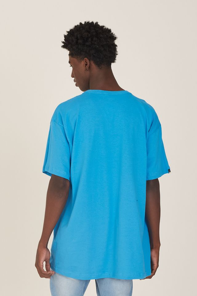 Camiseta-Onbongo-Plus-Size-Estampada-Azul-Turquesa