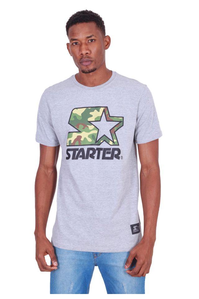 Camiseta-Starter-Estampada-Logo-Camuflada-Cinza