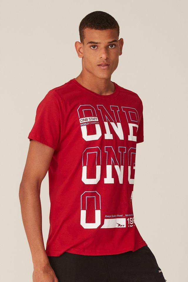 Camiseta-Onbongo-Estampada-Vermelha