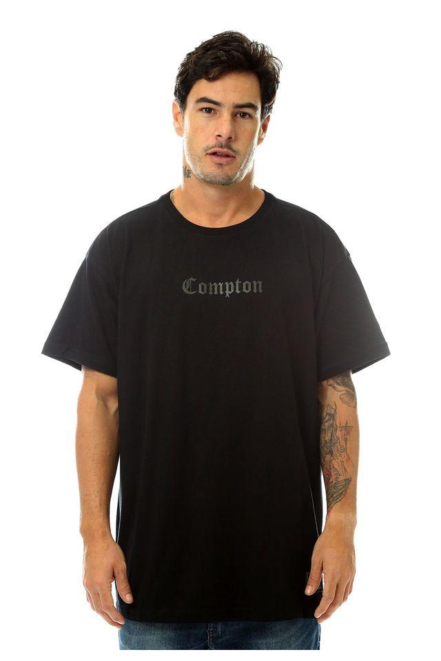 Camiseta-Starter-Estampada-Compton-Preta