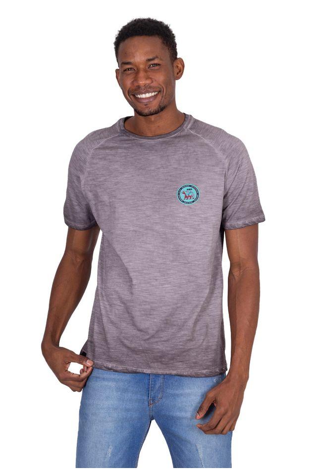 Camiseta-Hawaiian-Dreams-Especial-Basic-Mini-Bear-Logo-Cinza