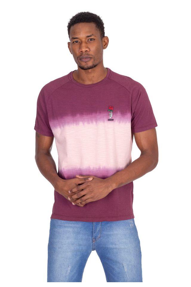 Camiseta-Hawaiian-Dreams-Especial-Basic-Vinho