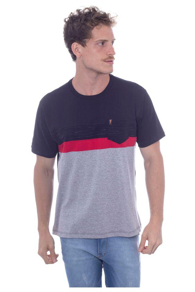 Camiseta-Hawaiian-Dreams-Especial-Pocket-Preta