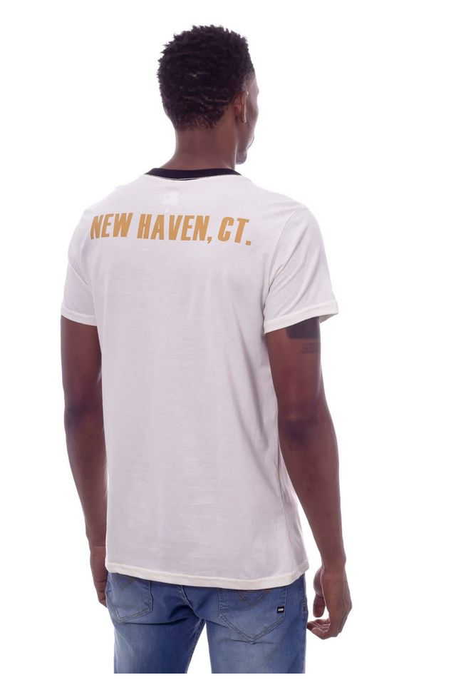 Camiseta-Starter-Gola-V-Estampada-New-Haven-Off-White