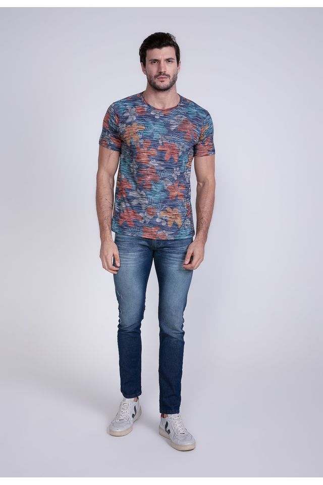 Camiseta-Oneill-Especial-Blessfull-Azul-Marinho