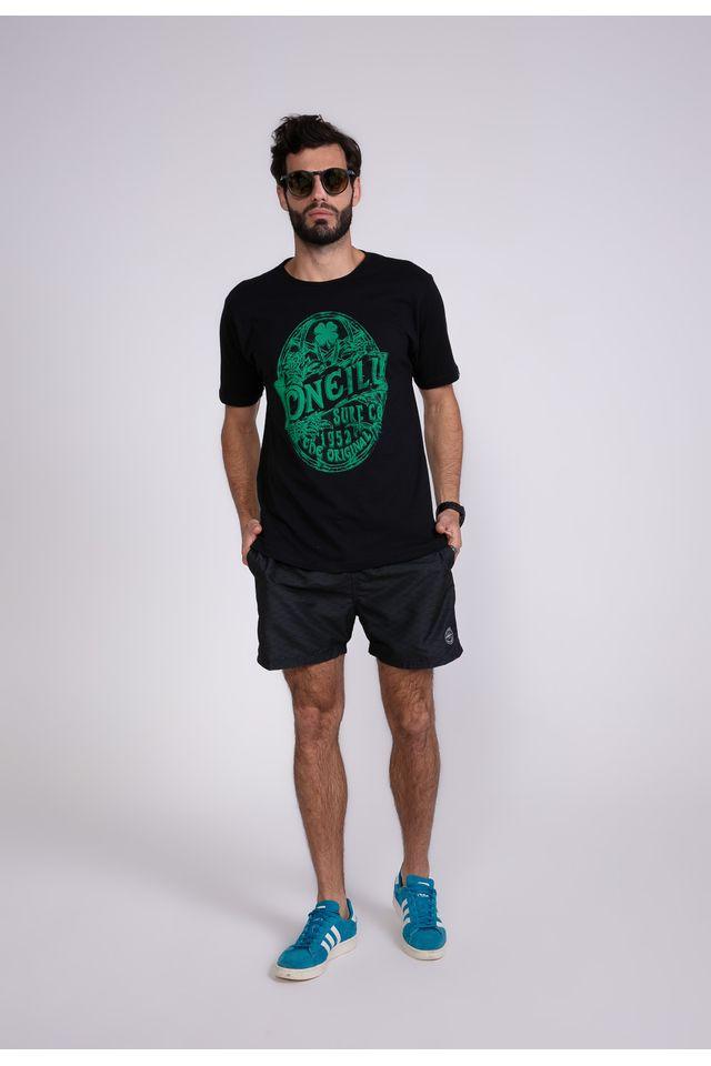Camiseta-Oneill-Estampada-Drink-Up-Preta