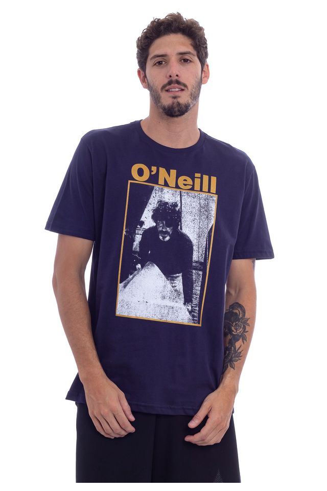 Camiseta-Oneill-Estampada-Photo-Azul-Marinho