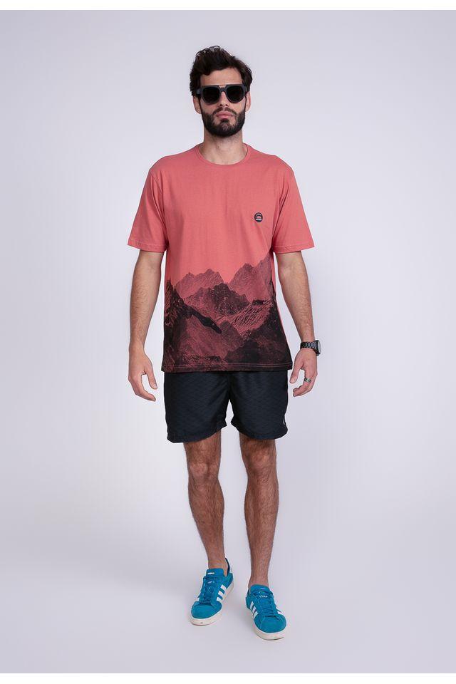Camiseta-Oneill-Estampada-Marrom
